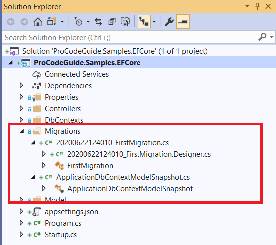 Entity Framework Migrations