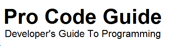 Pro Code Guide