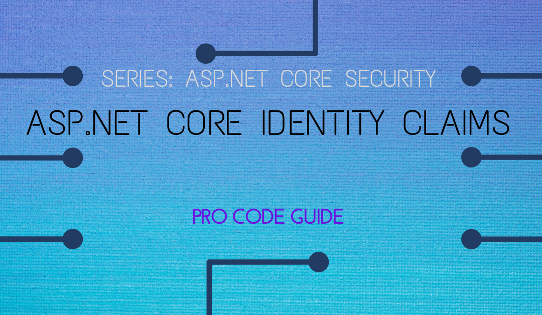 ASP.NET Core Identity Claims based Authorization